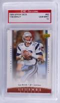 2006 Upper Deck Tom Brady Football Card Graded