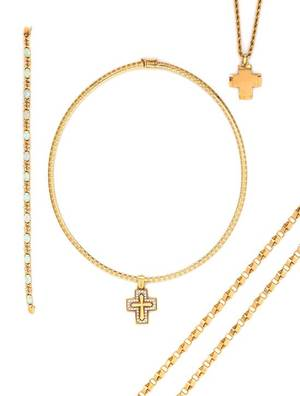 A Collection of Yellow Gold Multigem Jewelry