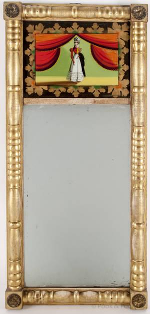 Federal giltwood mirror ca 1820