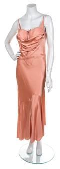 An Alexander McQueen Pink Silk Mermaid Gown