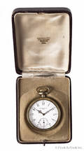 Patek Philippe  Cie goldfilled pocket watch made for Mermod