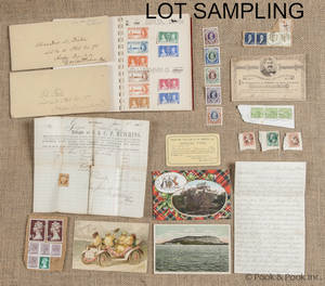 Miscellaneous collection of stamps and ephemera