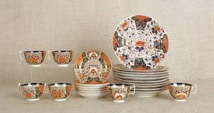 Group of Royal Crown Derby Imari palette porcelain