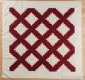 Pennsylvania Irish chain pieced quilt ca 1890