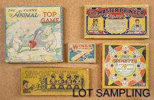 Large group of miscellaneous board games
