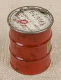 Salesman sample steel barrel