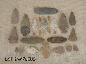 Large group of miscellaneous Native American stone artifacts