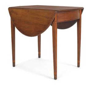 New England Federal mahogany Pembroke table