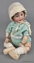 French Jumeau bisque head laughing doll