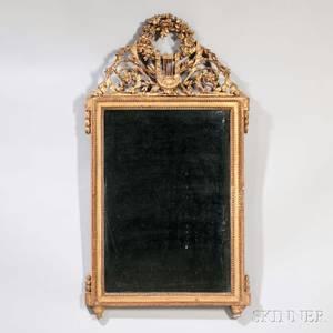 Louis XVIstyle Giltwood Mirror