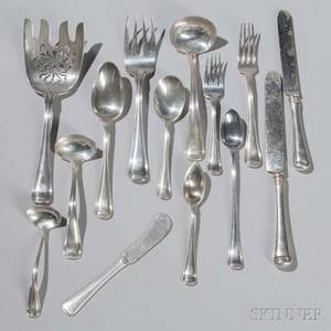 Gorham Old French Pattern Sterling Silver Flatware Service