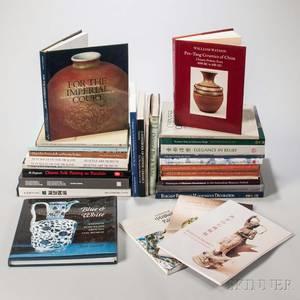 Thirty Books on Chinese Ceramics