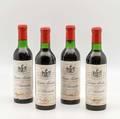 Chateau Montrose 1970 4 demi bottles