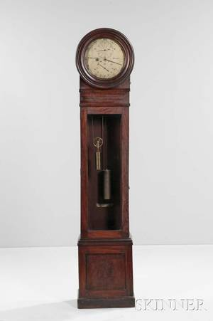 William Bond  Sons Mahogany Astronomical Floor Regulator No 152