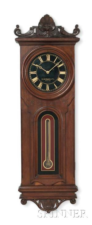 E Howard  Company No 41 Wall Clock with Black Dial