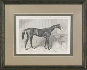 Five miscellaneous horse prints and engravings