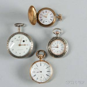 Columbia and Three Continental Pocket Watches