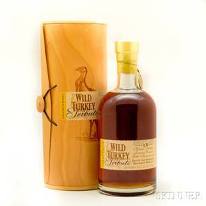 Wild Turkey Tribute 15 Years Old 1 750ml bottle owc