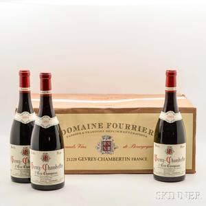 Fourrier Gevrey Chambertin Champeaux Vieilles Vignes 2004 12 bottles oc