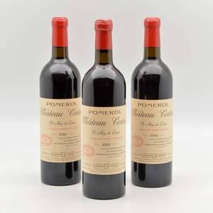 Chateau Certan de May 2000 3 bottles