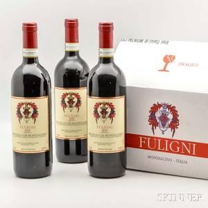 Fuligni Brunello di Montalcino Riserva 2010 6 bottles oc
