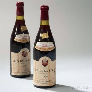 Domaine Ponsot Clos de la Roche 1979 2 bottles