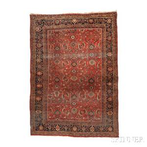 Antique Sarouk Carpet
