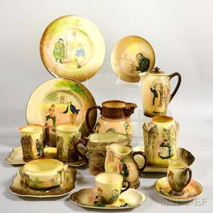 Eighteen Assorted Royal Doulton Ceramic Items
