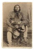 Framed Photograph of Kiowa Chief Big Tree