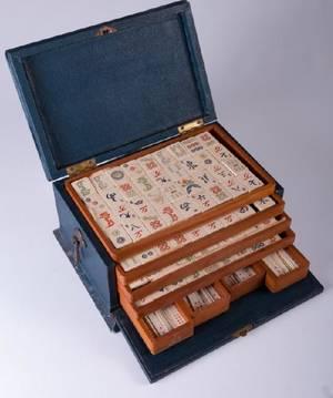 Pung Chow Pyralin Mahjong Set