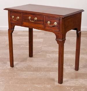 English Dressing Table L 18th  E 19th Century