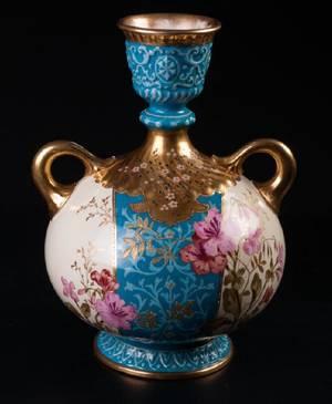 Royal Bonn Porcelain TwoHandled Vase