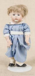 Reproduction Kammer Reinhardt bisque head boy doll