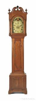 Berks County Pennsylvania tall case clock late 18th c