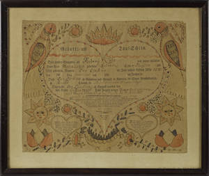 Friederich Krebs Southeastern Pennsylvania 17491815
