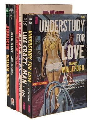 Group of Six Collectible Paperbacks Mainly Beatnik and