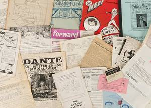 Lot of Miscellaneous Ephemera from Dr Grossmans