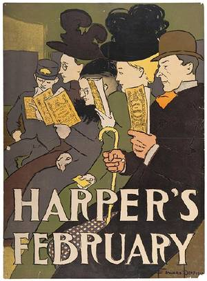 A Group of Five Posters for Literary Publications