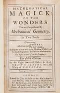 Mathematics Wilkins John Mathematical Magick