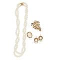 Pearl  yellow gold jewelry