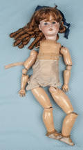Schoenau  Hoffmeister bisque head doll