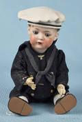 Bruno Schmidt bisque head boy doll with sleep eyes