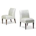 Pair of fendi side chairs