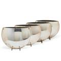 Cassetti polished pillow vases
