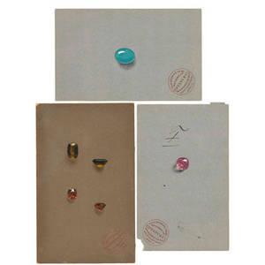 Tiffany  co gemstone renderings