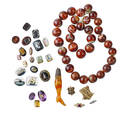 Large collection of unmounted stones clasps etc