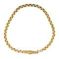 Georgian style yellow gold neck chain