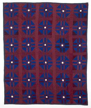 Amish patchwork quilt early 20th c