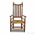 Maple Banisterback Armchair