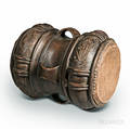 Carved Hidecovered Doublesided Drum